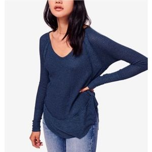 NEW Free People Catalina Thermal Top